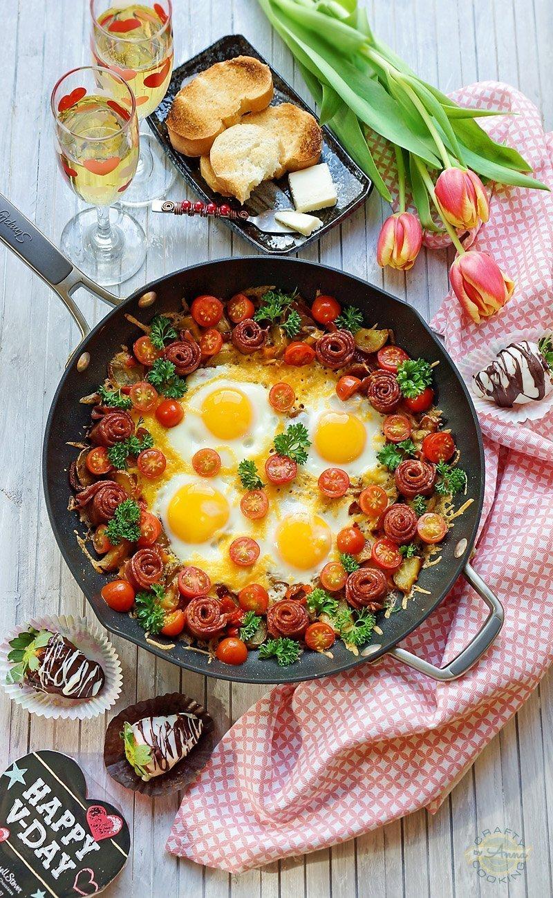 Valentine's Day Shakshuka Breakfast