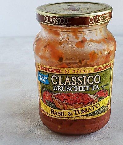 Classico® Basil and Tomato Bruschetta