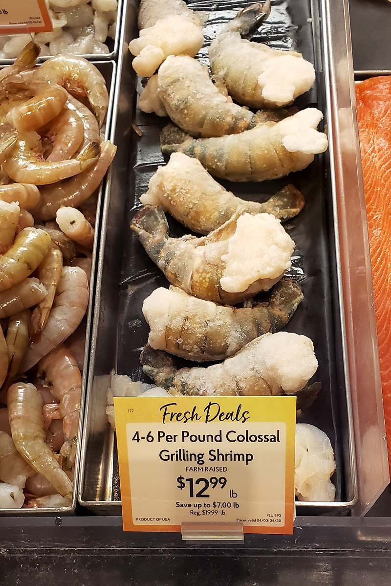 Colossal Shrimp from The Fresh Market