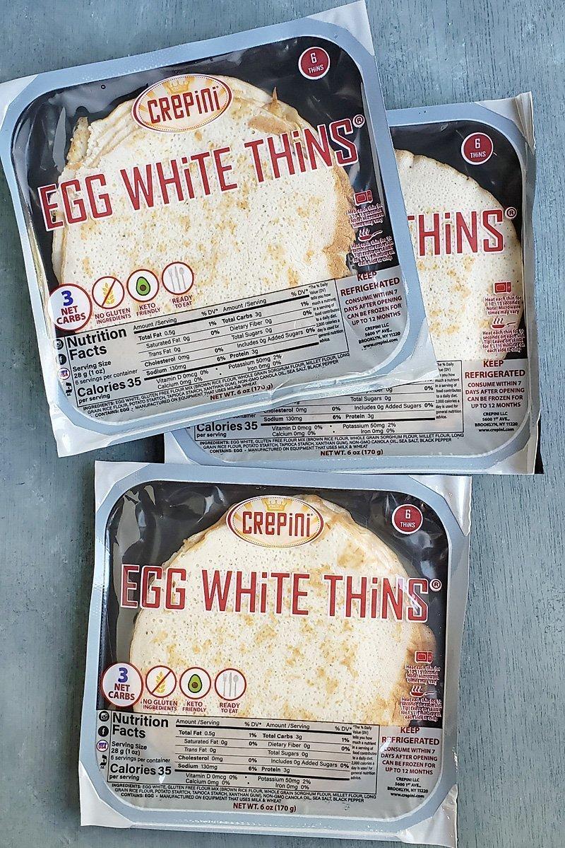 Egg White Thins Costco