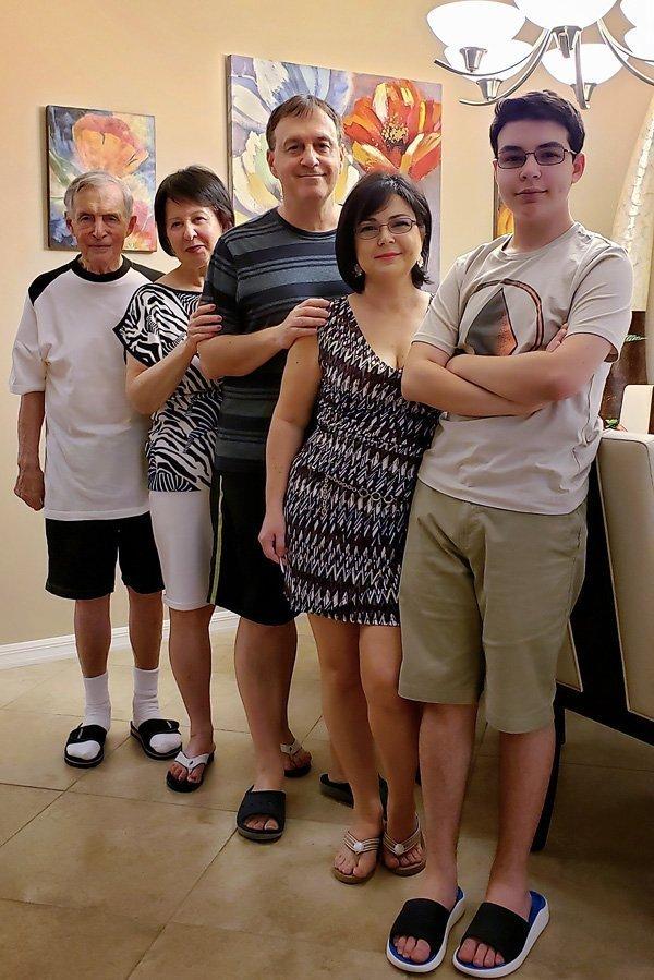 Family Photo April 2019