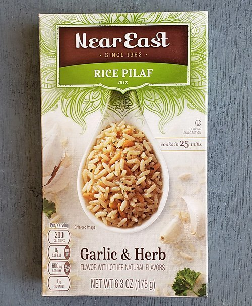 Near East® Garlic & Herbs Pilaf Mix