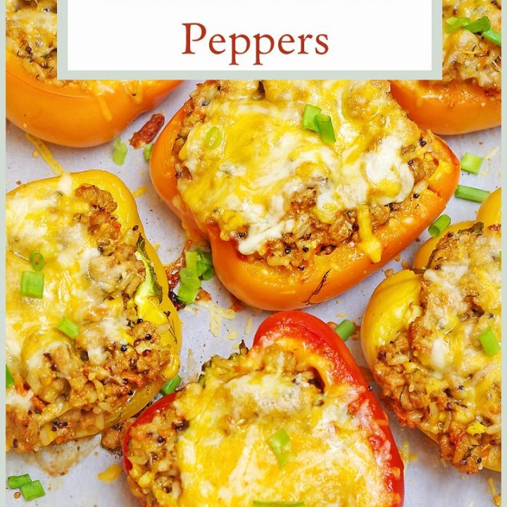 Chicken Stuffed Peppers Pin