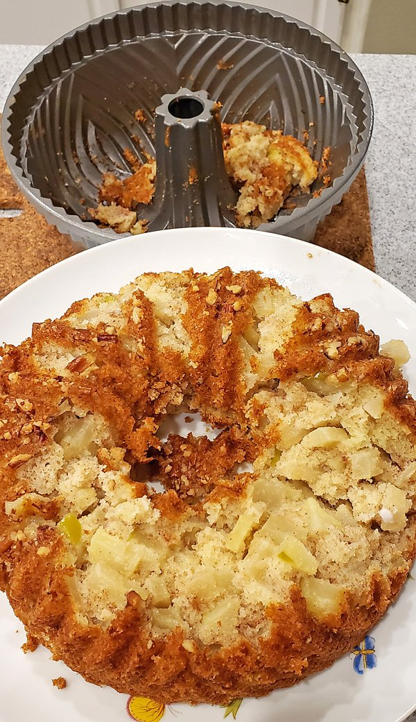 disaster apple cake