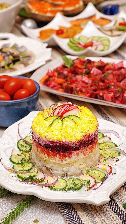 "SHUBA - Russian herring salad ""under a coat"""