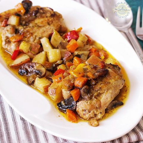 Russian Chicken Stew (Zharkoe)