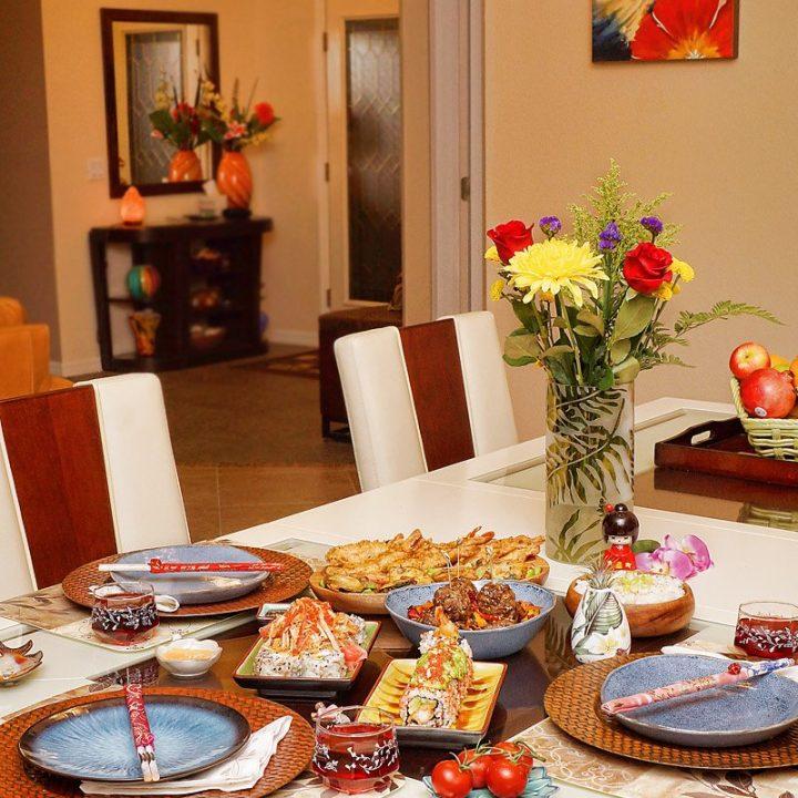 Asian-Themed Dinner