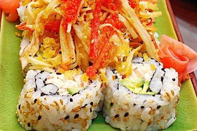 Volcano Sushi Roll