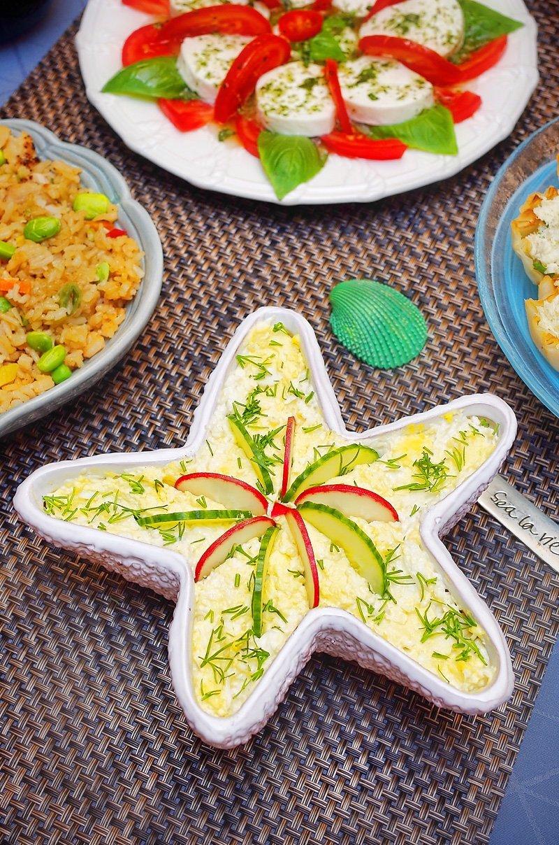 Cod Liver Salad