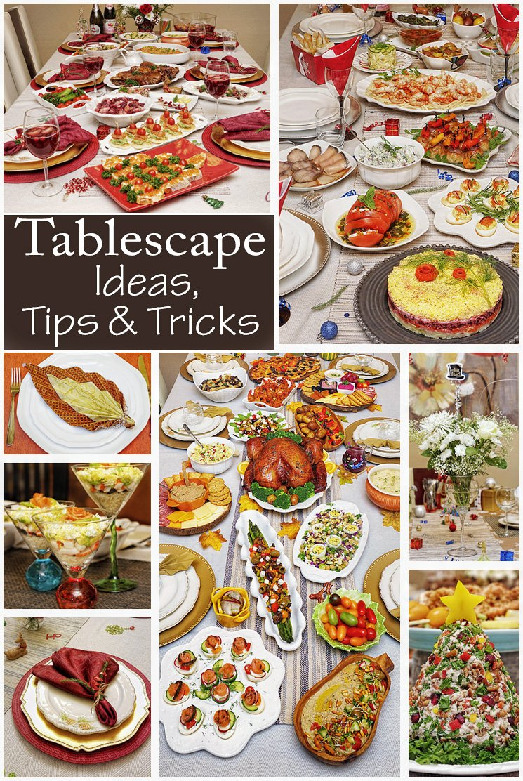 Tablescape Ideas, Tips and Tricks from Crafty Cooking By Anna