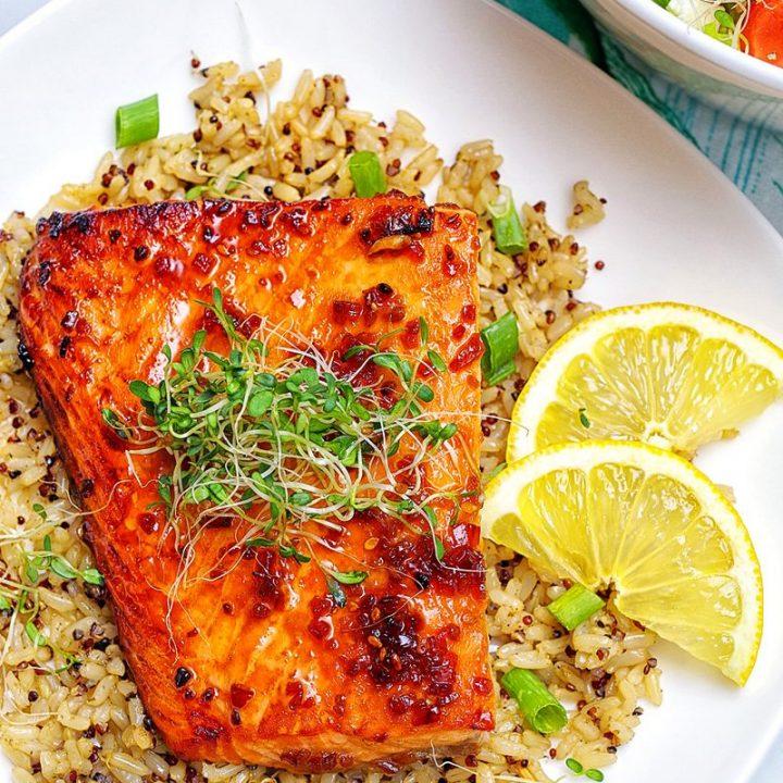 teriyaki-broiled-salmon-rice