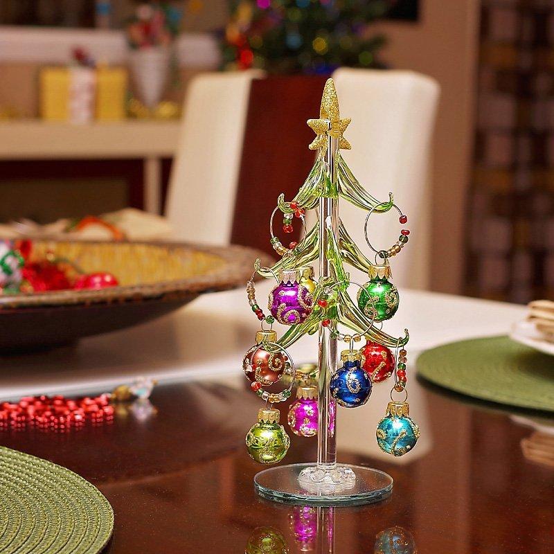 Christmas Tree table decor 2
