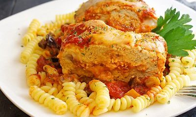 CHICKEN PARMESAN MEATLOAF inside thumb
