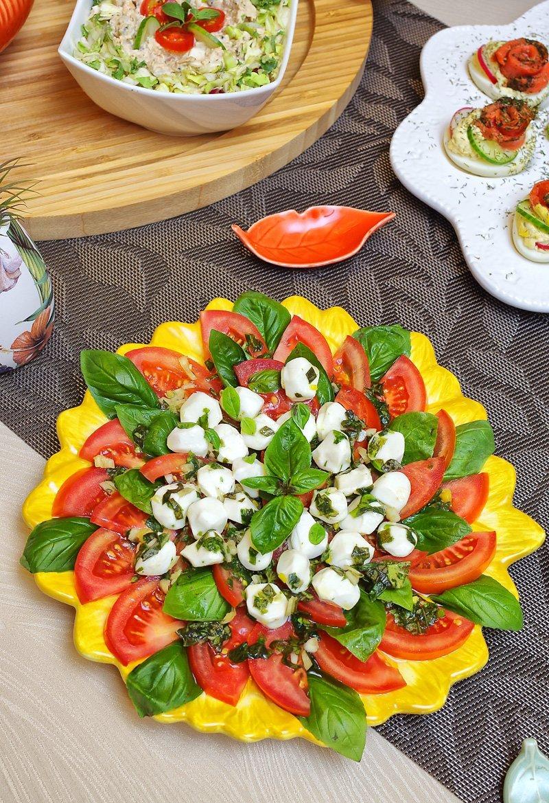 Caprese Salad my bday 2020