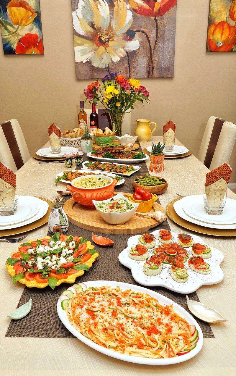 My Birthday Dinner Table 2020