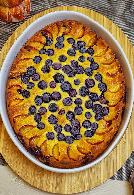 Natasha's Kitchen Blueberry Ricotta Cake