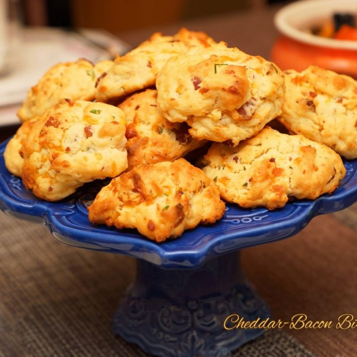 Cheddar-Bacon Biscuits!