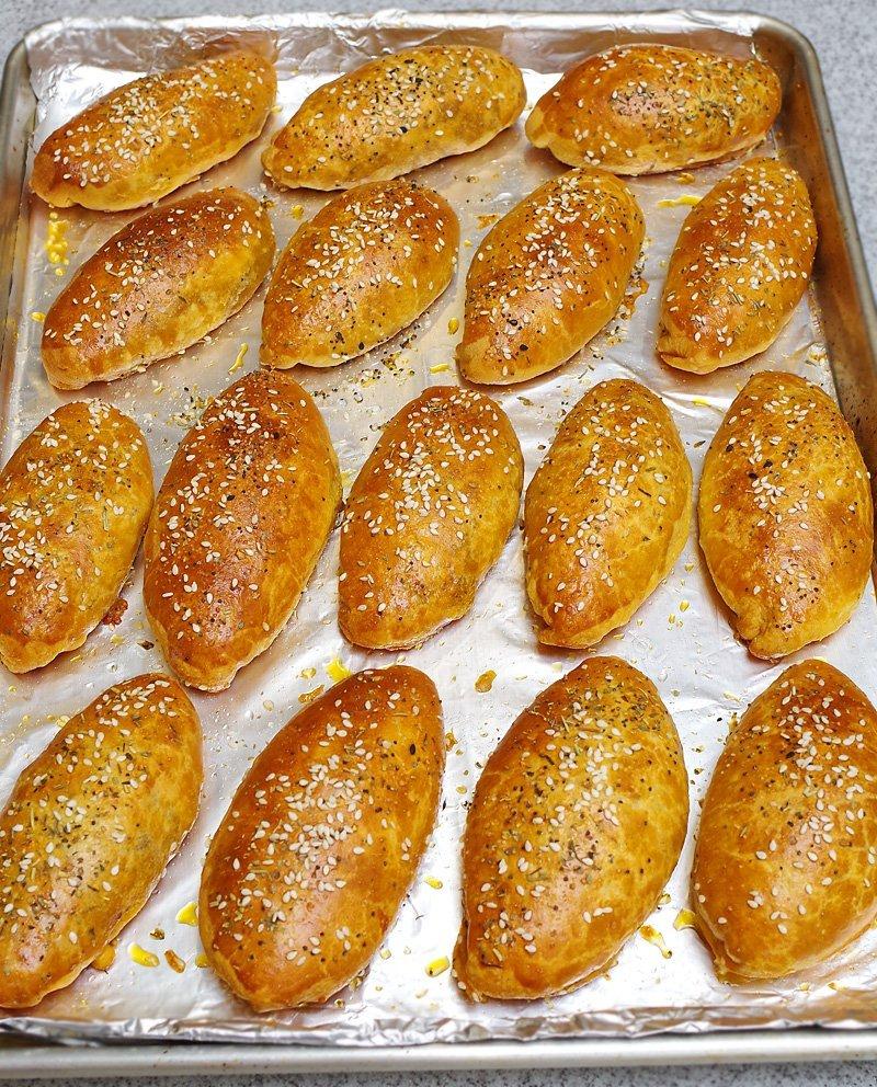 Pirozhki baked