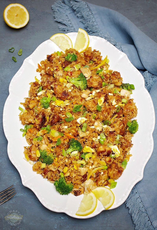 Easy Teriyaki Fried Rice Dinner