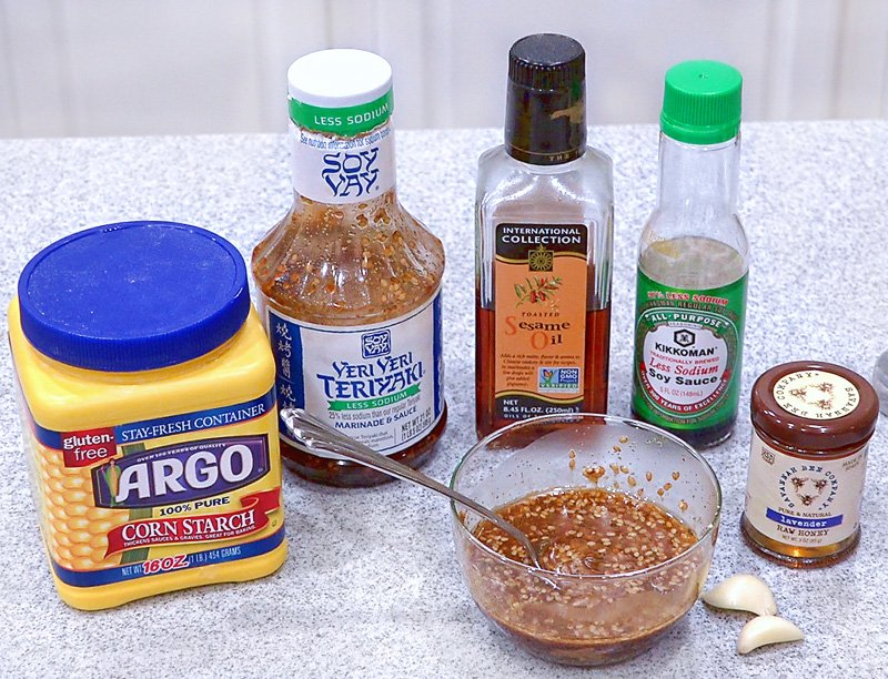 Easy Teriyaki Chicken ingredients