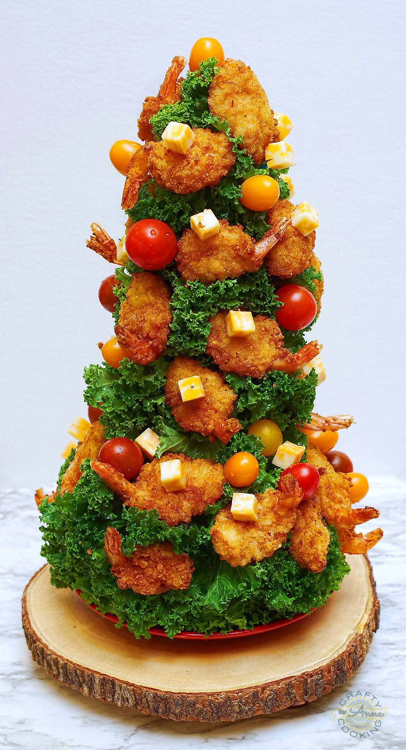 Xmas Shrimp Tree
