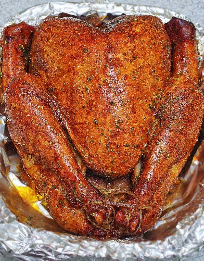 Smoked Turkey reheated