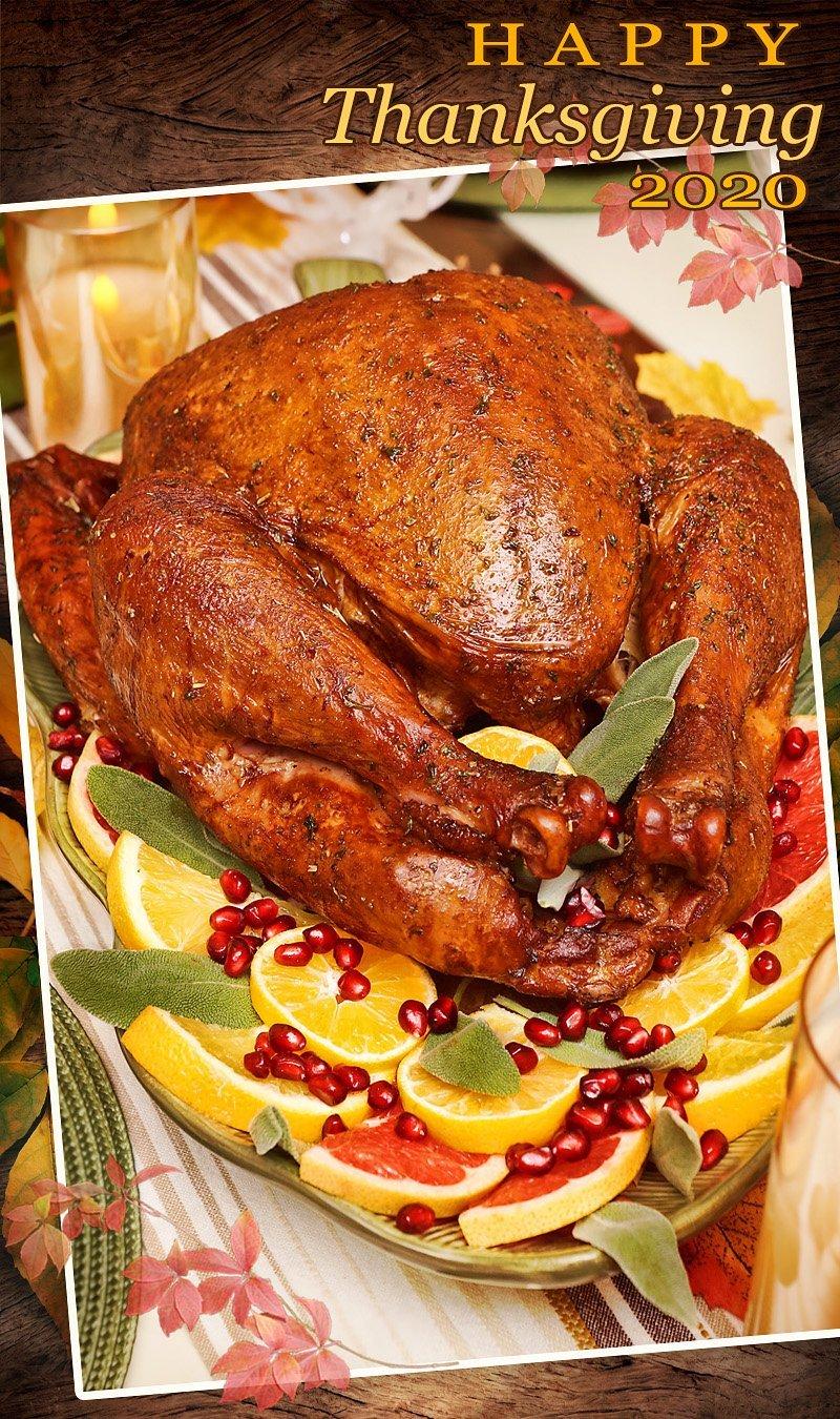 Thanksgiving Dinner 2020 Pin