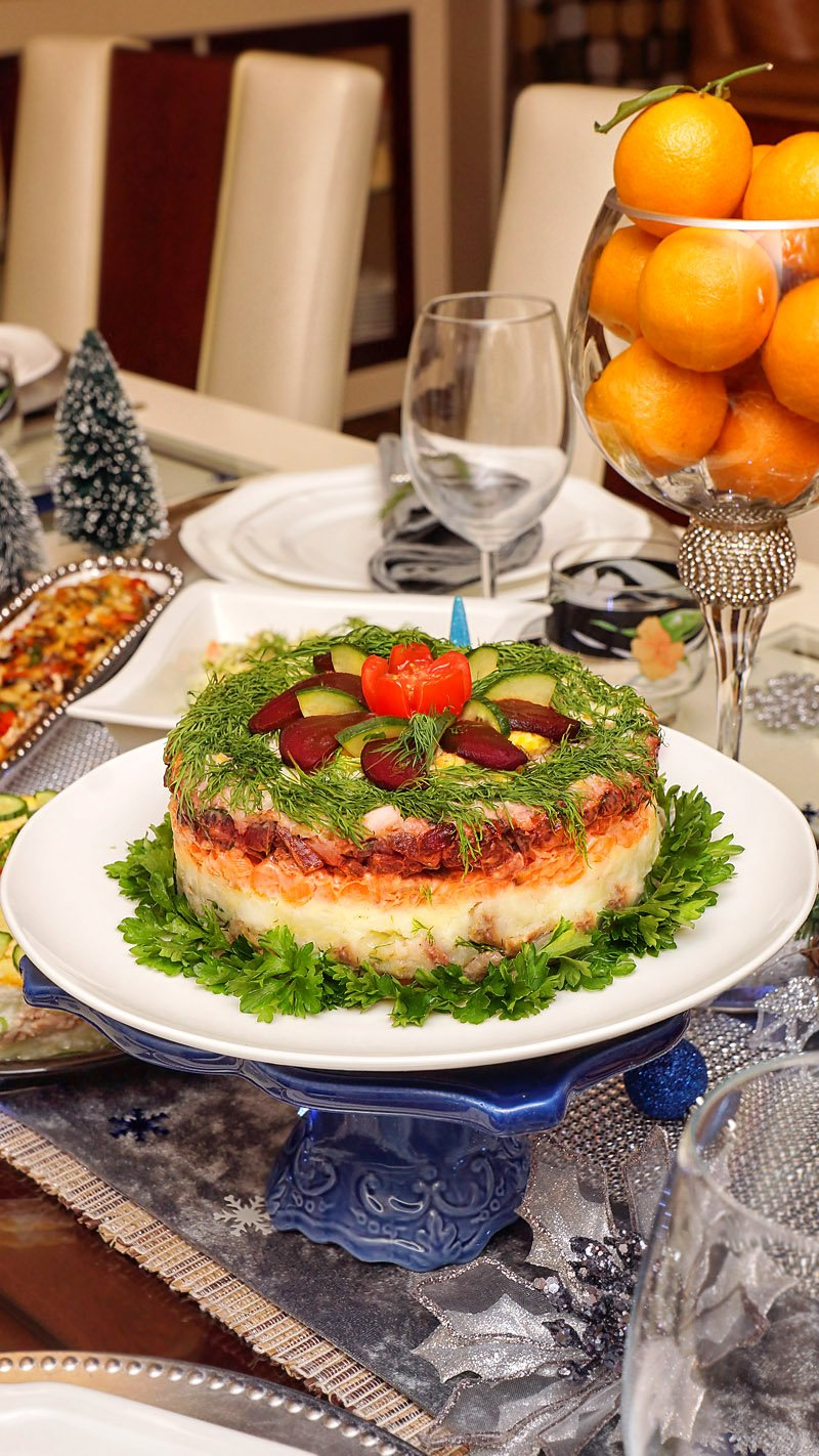 Shuba Russian Salad