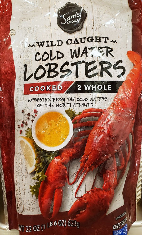 Cooked lobsters Walmart