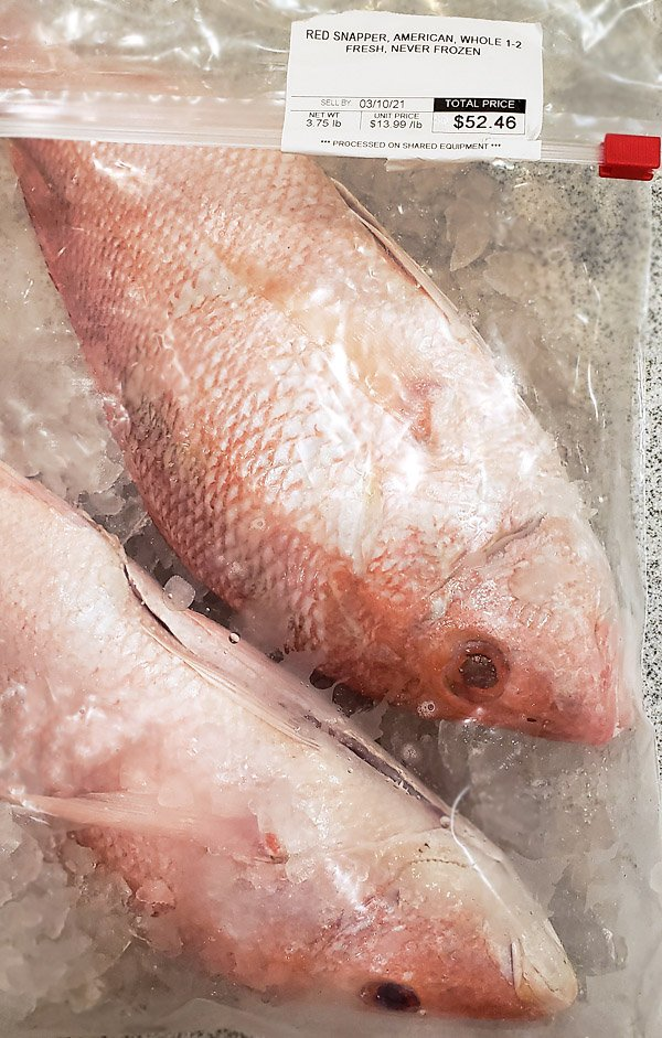 Red Snapper Publix price