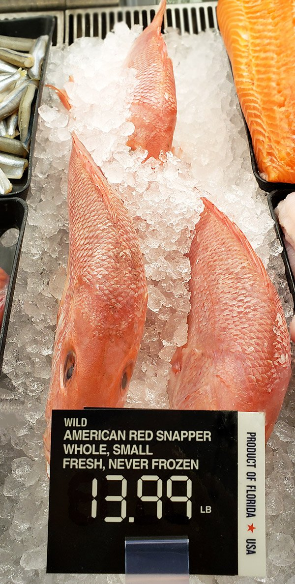 Red Snapper Publix