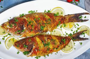 Oven Baked Whole Yellowtail Snapper thumb
