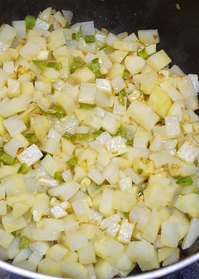 potatoes add to soup