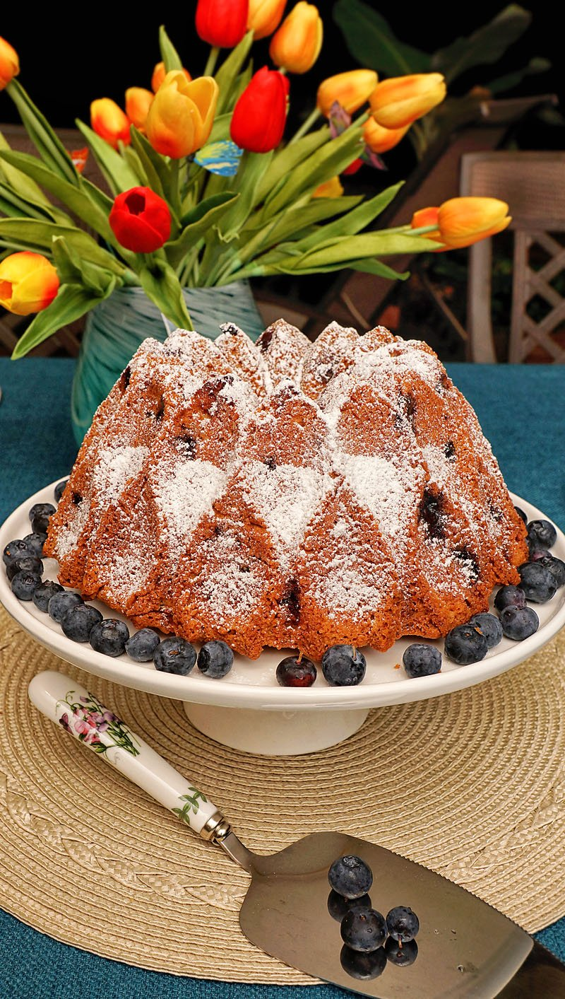 Blueberry Cake click here
